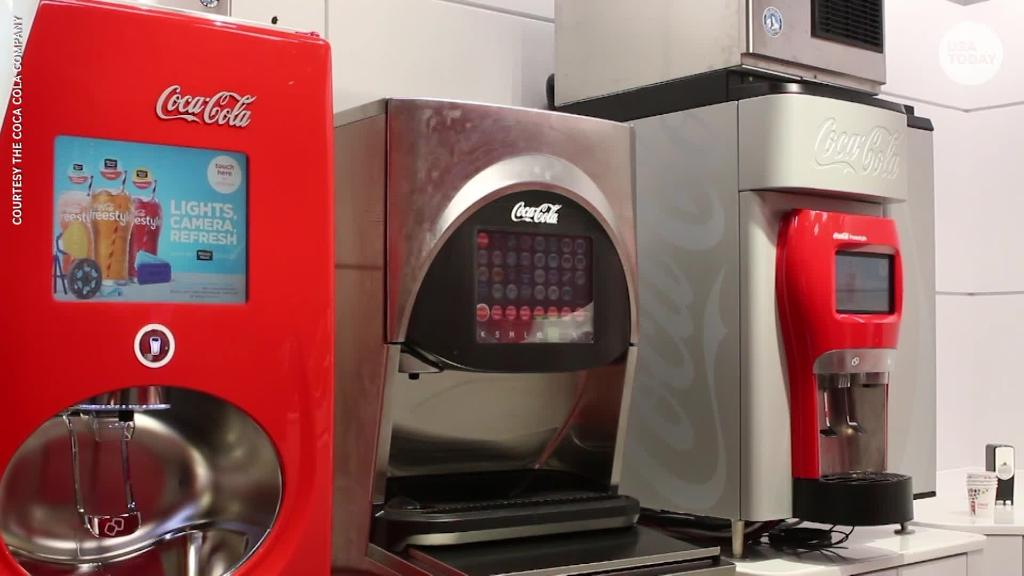 Coke's newest machine fits in the palm of your hand