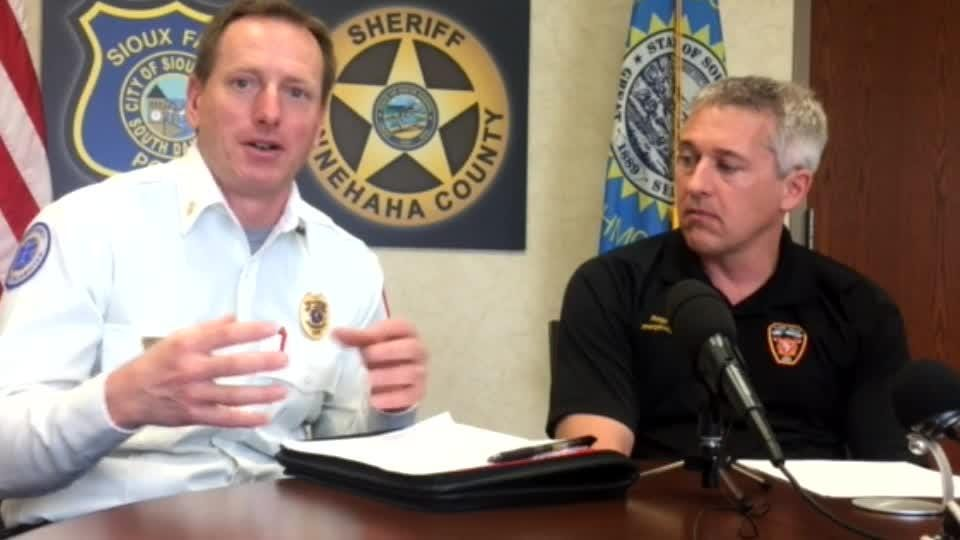 Daily police briefing 5-18 with update on fire