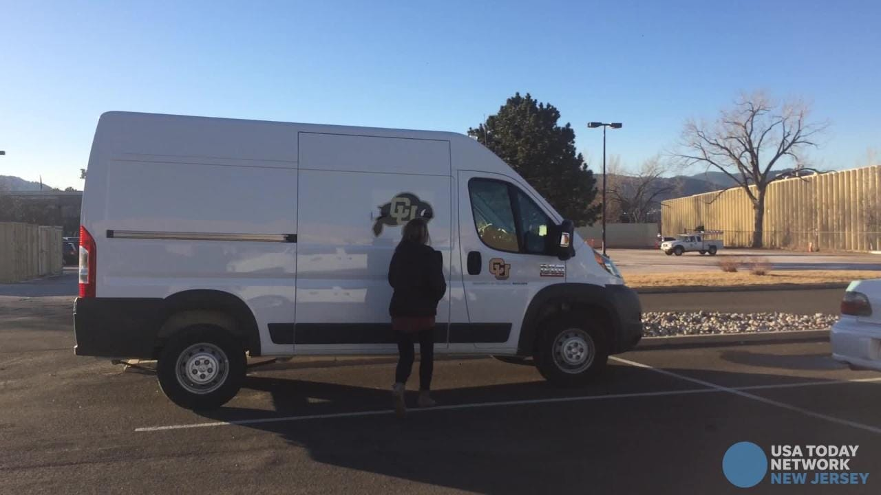 Researchers at the University of Colorado at Boulder can't study legal weed because it's still illegal on the federal level. Enter the CannaVan.