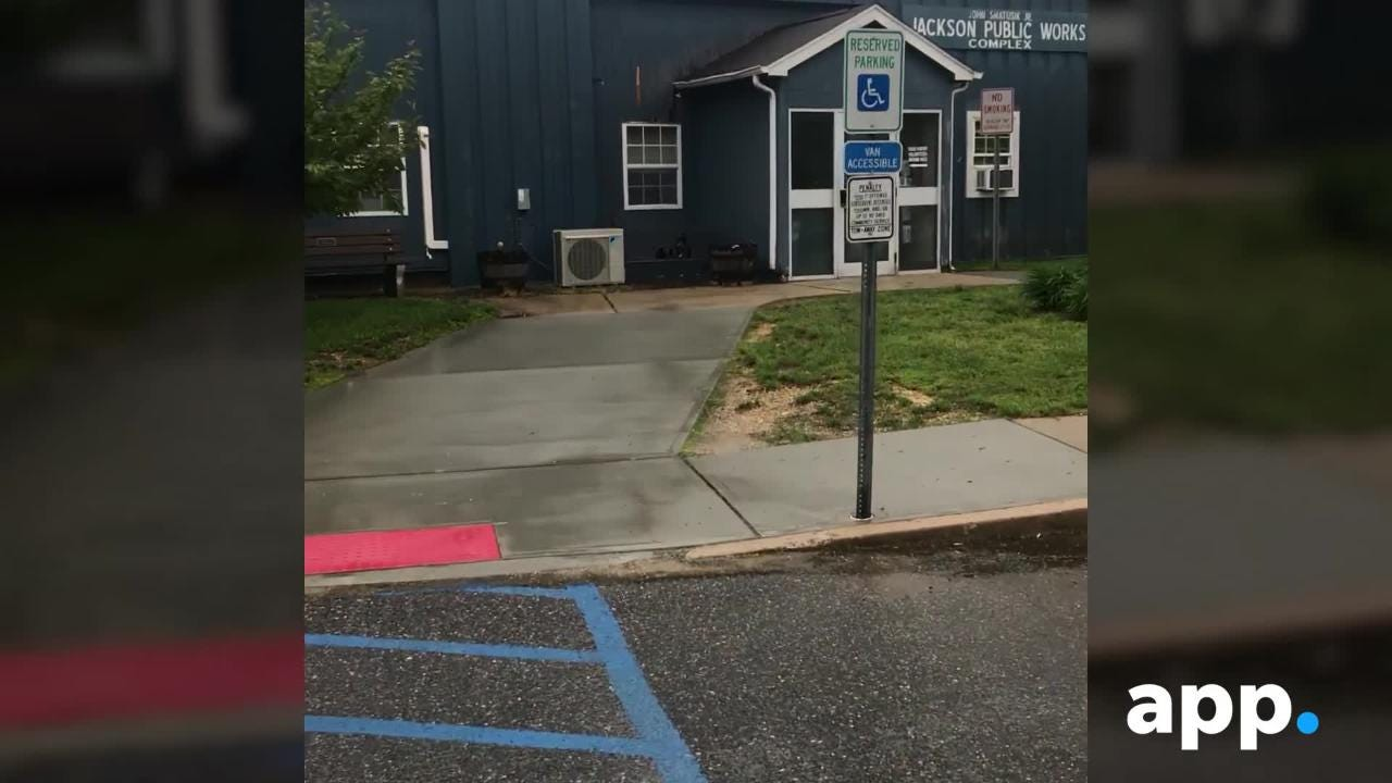 Director of Public Works Fred Rasiewicz converted a handicapped spot to a personal parking space.
