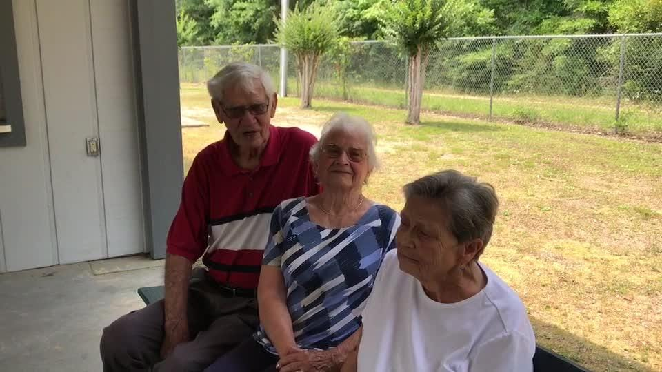 A group of Pace senior citizens want to have a place closer to where they live for social gatherings, rather than driving to Milton