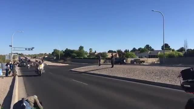 Run For The Wall rides through Las Cruces
