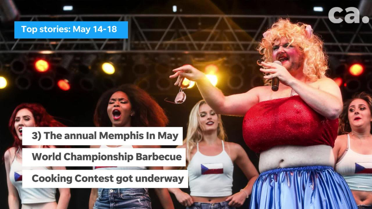 A quick look at the top stories in Memphis, May 14-18