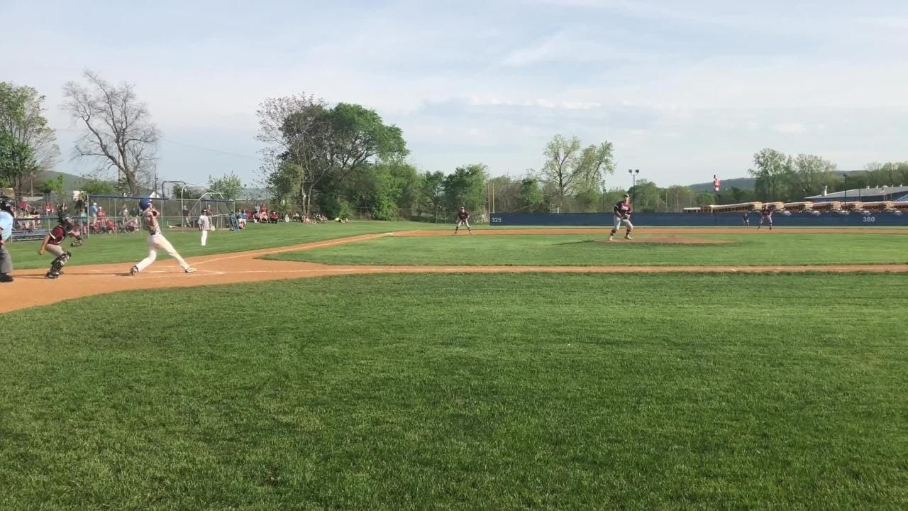 Mike Limoncelli hit a two-run single, a two-run homer and pitched 6 2/3 shutout innings for Horseheads in a 5-0 Class AA win over Elmira on May 18.