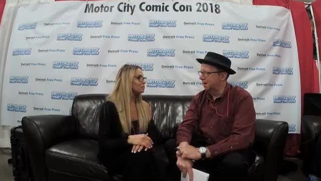 Trish Stratus talks fitness, wrestling and more with Rob St. Mary from Motor City Comic Con.