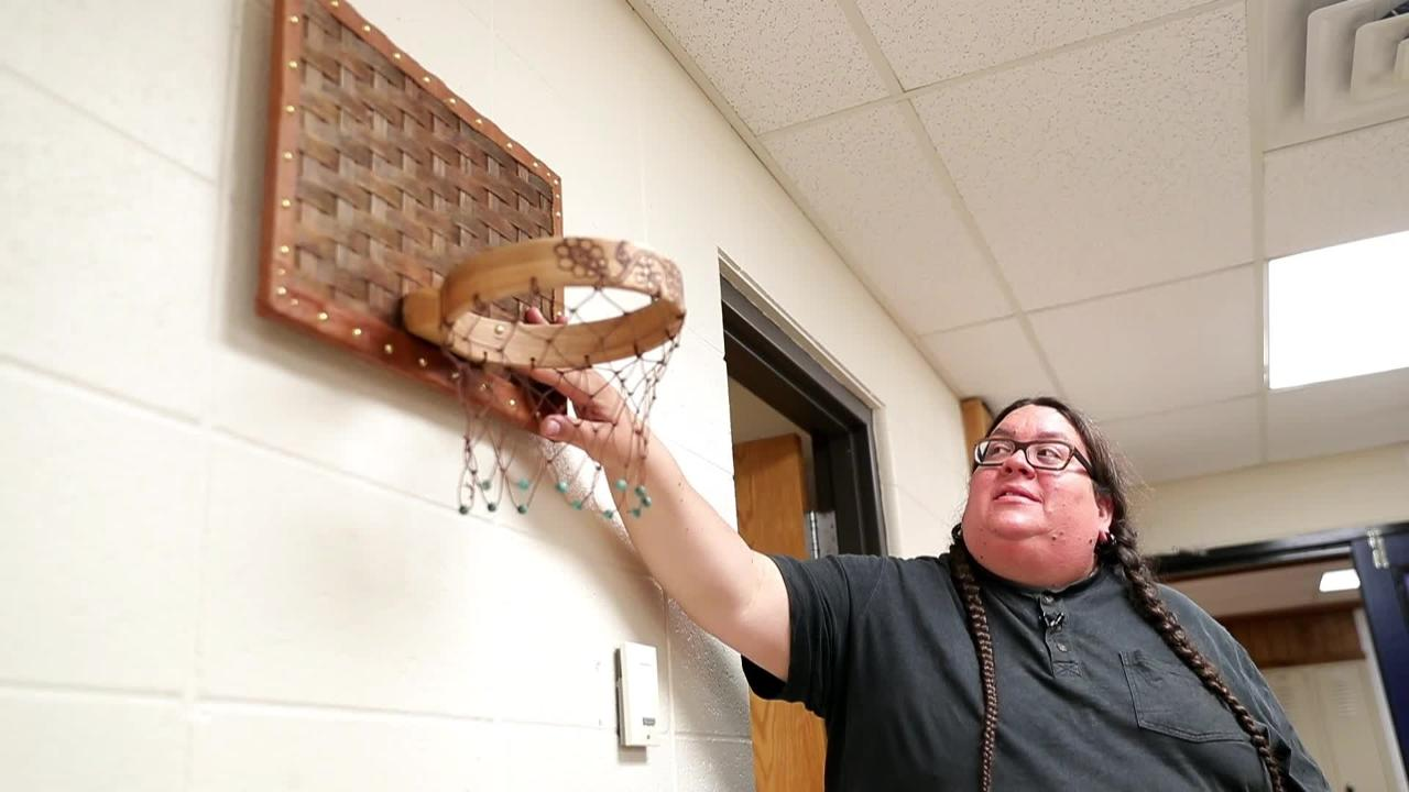 Benjamin Grignon was named a Wisconsin High School Teacher of the Year for his work teaching students Menominee arts and language.