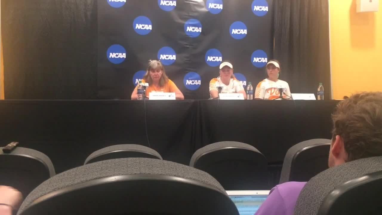 Tennessee hits throughout the lineup, pitcher Caylan Arnold limits damage in NCAA softball win over James Madison
