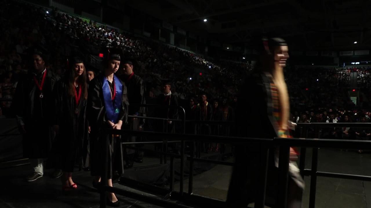South Fort Myers High School graduates celebrate