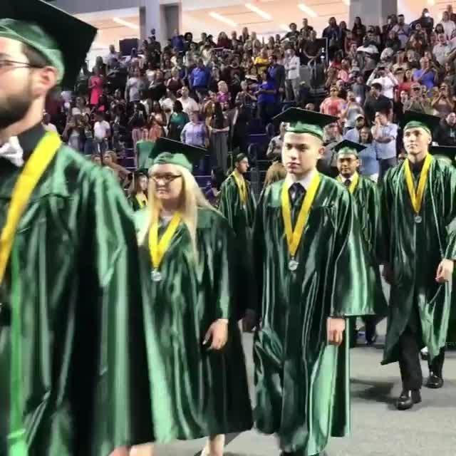 See a short video clip from Island Coast High School's 2018 graduation.