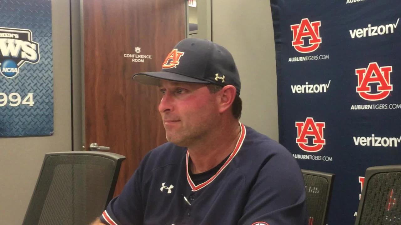Auburn head coach Butch Thompson after series win vs. LSU