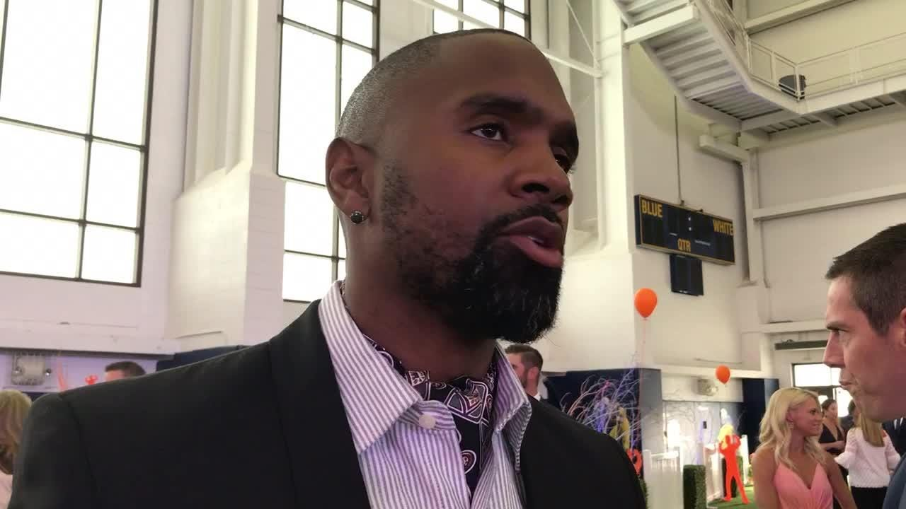Charles Woodson explains why he guaranteed Michigan will defeat Ohio State in the season finale. Recorded May 19, 2018.