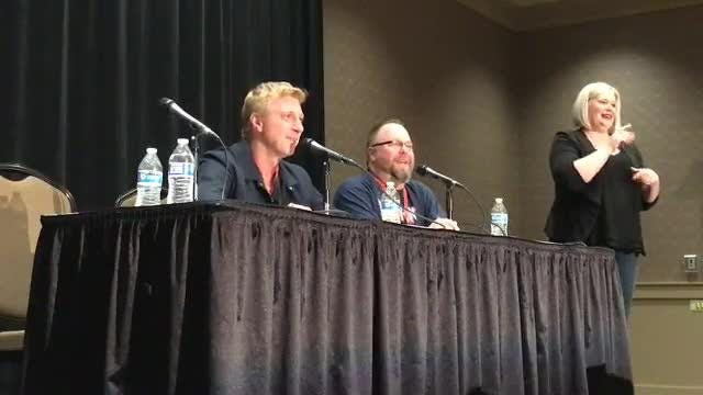 "Live panel from Motor City Comic Con: William Zabka, star of Cobra Kai and ""The Karate Kid."""