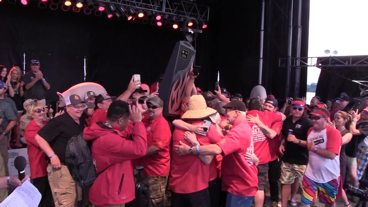 Memphis In May World Championship Barbecue Cooking Contest crowns the grand champion for 2018.