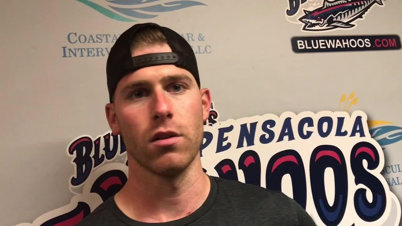 Reds pitcher Anthony DeSclafani encouraged by rehab start Saturday for Blue Wahoos