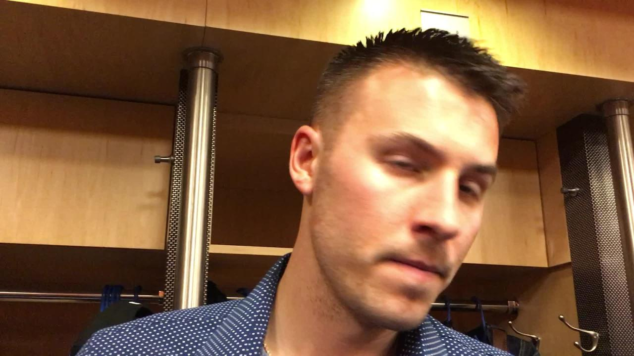Diamondbacks lefty Patrick Corbin talks about his team's tough loss to the Mets and breaks down his start.