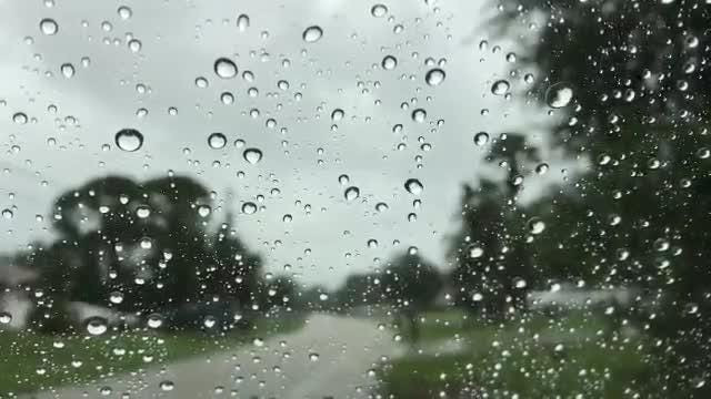 Rain affects Sunday motorists in Port St. Lucie