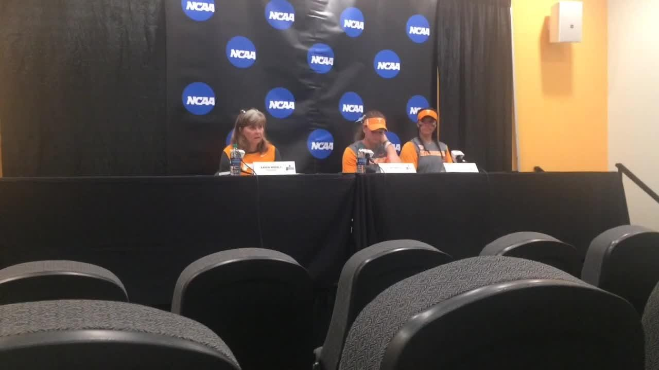 After cruising to two run-rule victories, Lady Vols downshifted their way to a victory in the NCAA softball tournament regional