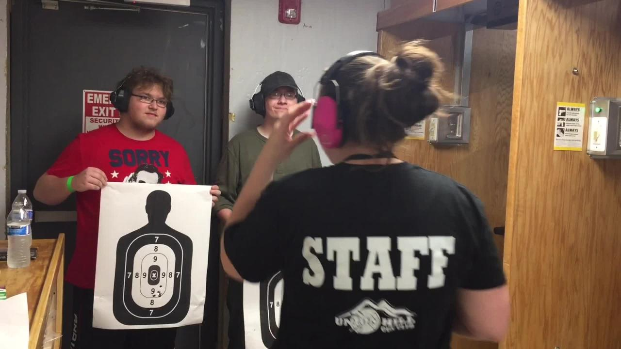 Gun-rights advocates sponsored a firearms training and safety program for Lacey students after controversy over a photo of students posing with guns.