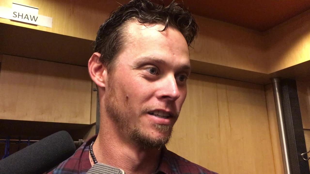 Diamondbacks right-hander Clay Buchholz gave up one run in five-plus innings against the Mets on Sunday.