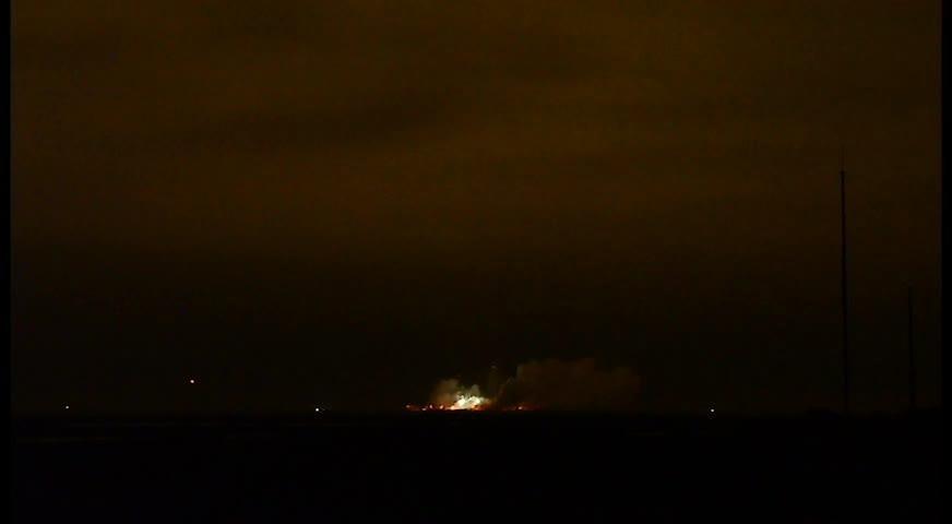 WATCH: Orbital ATK's Antares rocket OA-9 liftoff