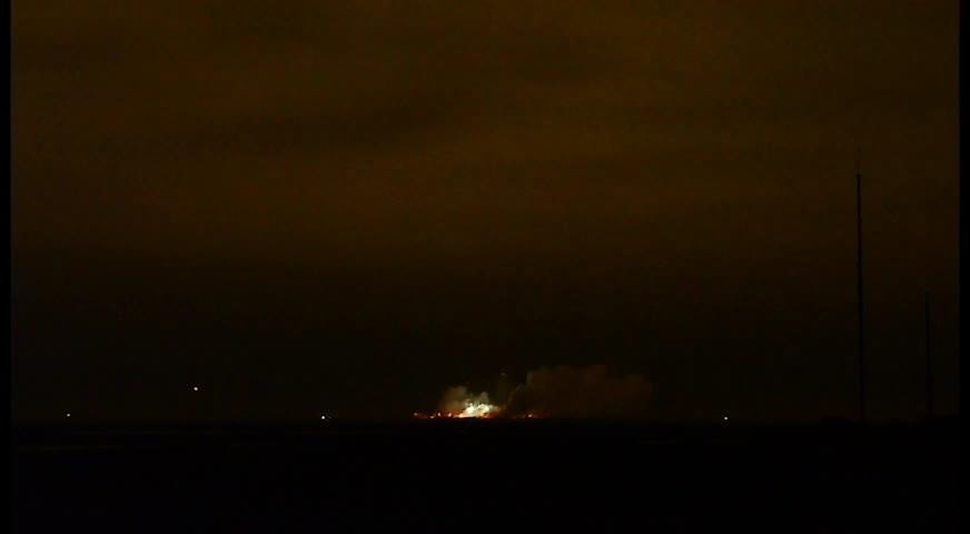 Orbital ATK's Antares rocket OA-9 liftoff
