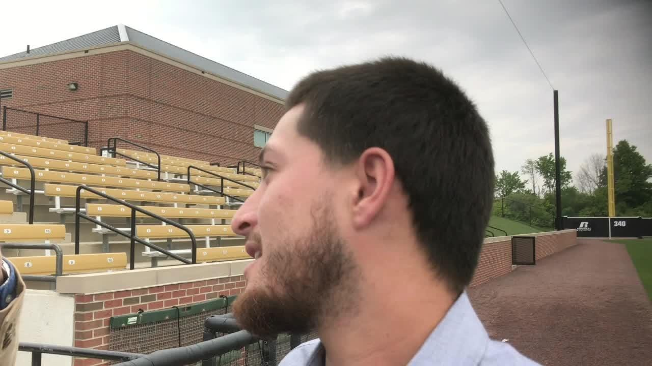 "Purdue's Evan Warden: ""Next thing you know I was on the ground and blood everywhere."""