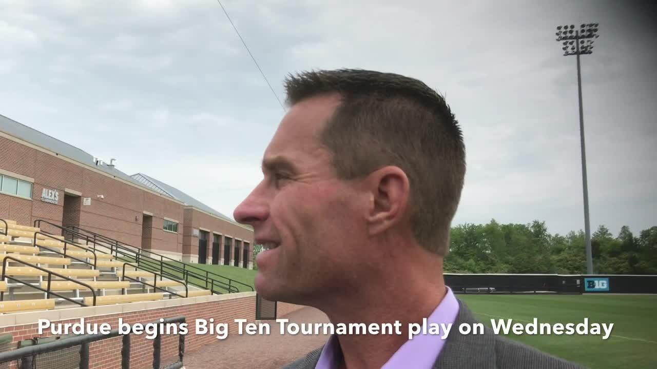 The Boilermakers coach on Evan Warden's toughness and his team's postseason hopes entering the Big Ten Tournament.