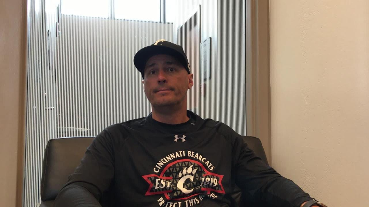 Former Xavier baseball coach Scott Googins has guided the Cincinnati Bearcats to a No. 6 AAC tournament seed in his first year at UC.