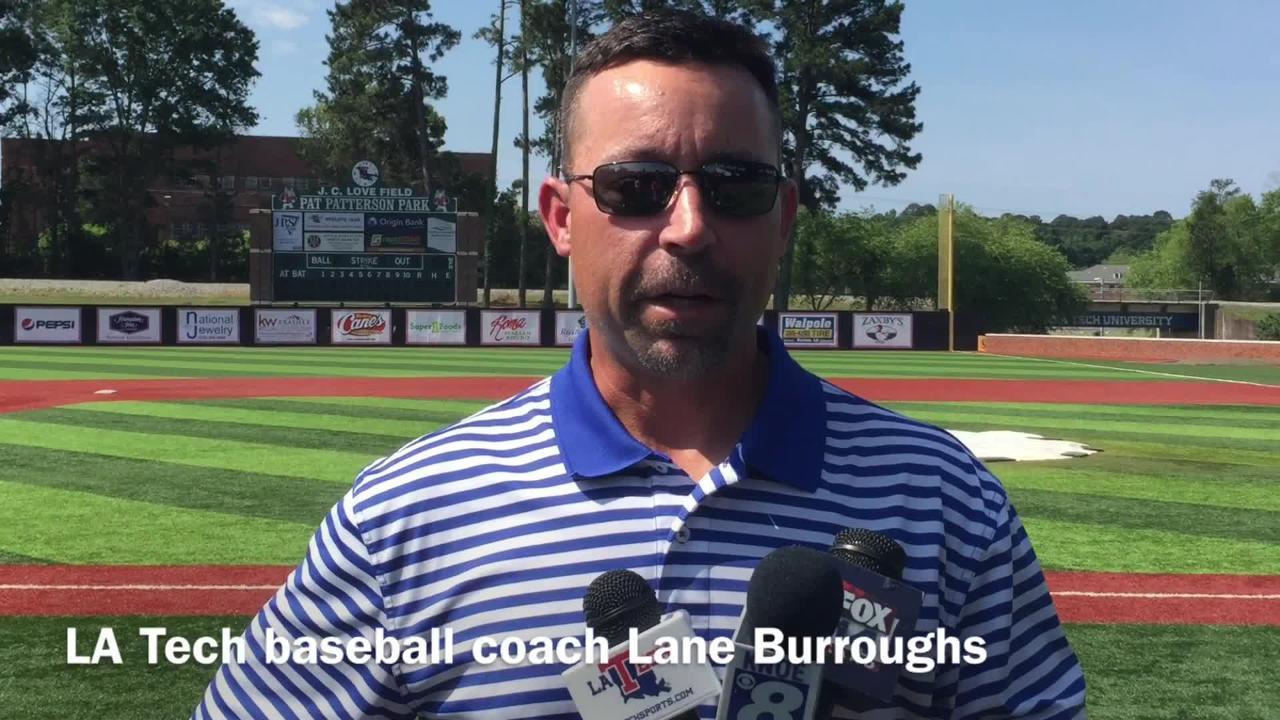Louisiana Tech baseball coach Lane Burroughs lists why he believes his team deserves to make the NCAA Tournament.