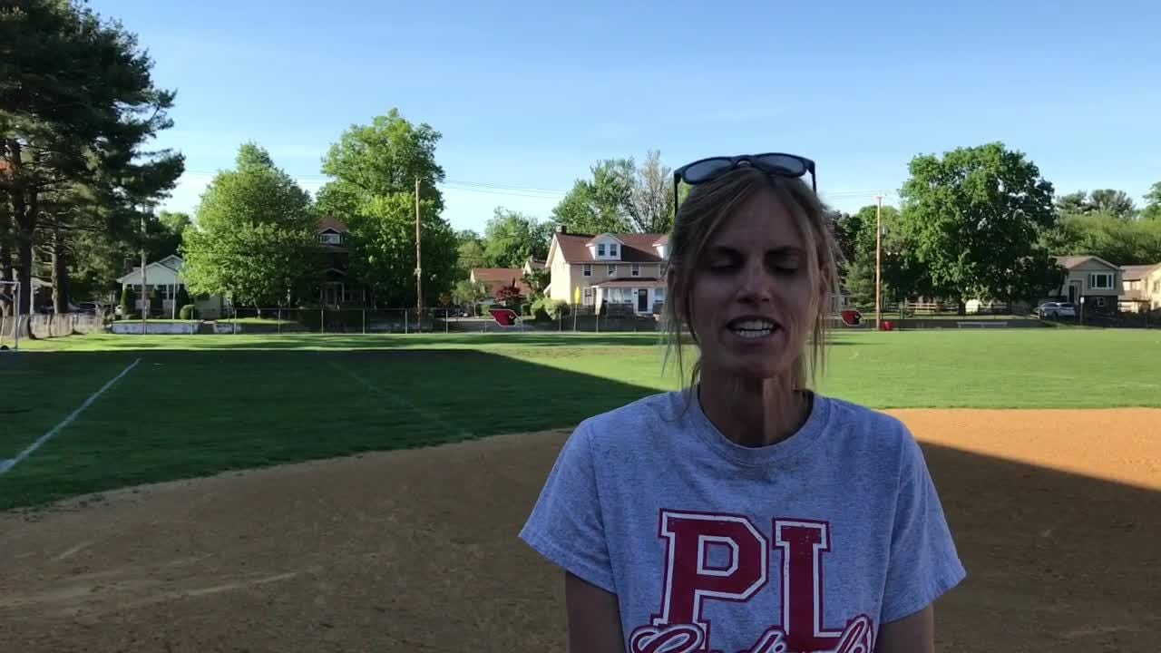 Pompton Lakes softball coach Karyn Hennessy says team was deserving of a good win.