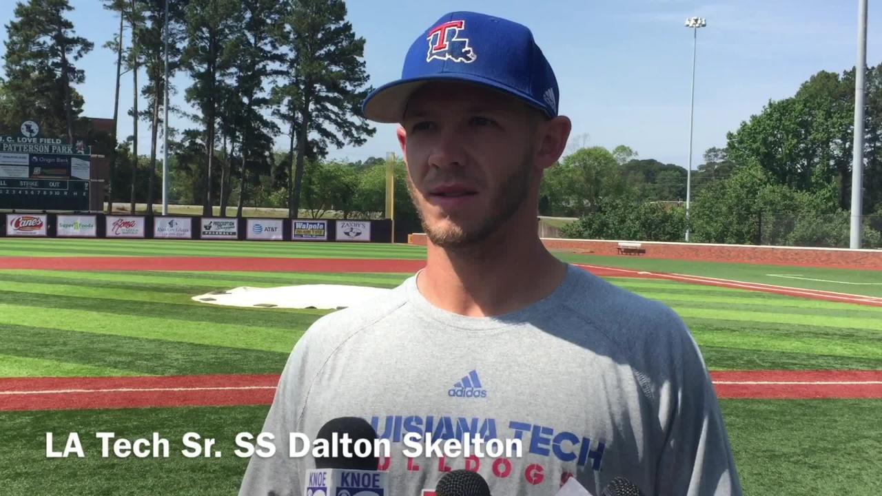 Louisiana Tech senior shortstop Dalton Skelton shares the team's mindset as it enters the Conference USA tournament.