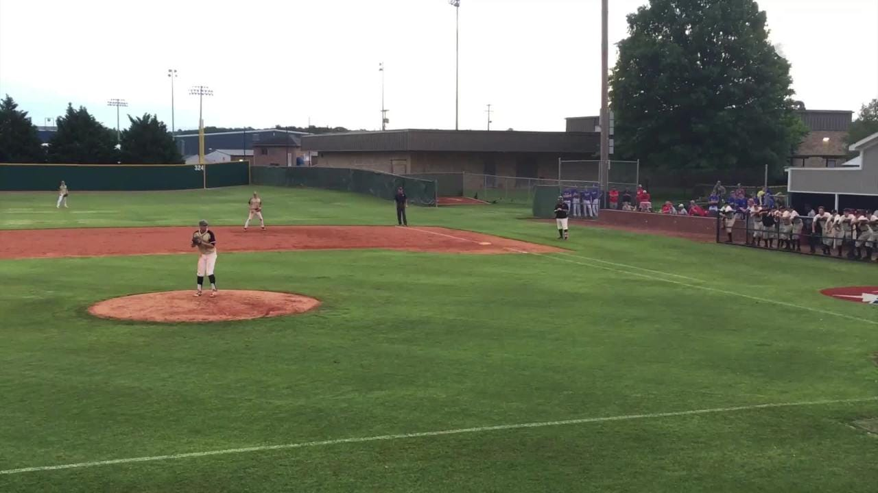 Highlights of Stewarts Creek's 2-1 win over Arlington in the Class AAA state baseball tournament Tuesday.