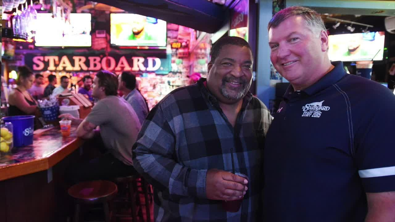 "Steve ""Monty"" Montgomery, co-owner of The Starboard in Dewey Beach, talks about the bar's fun atmosphere and  and what happened to that voice of his."