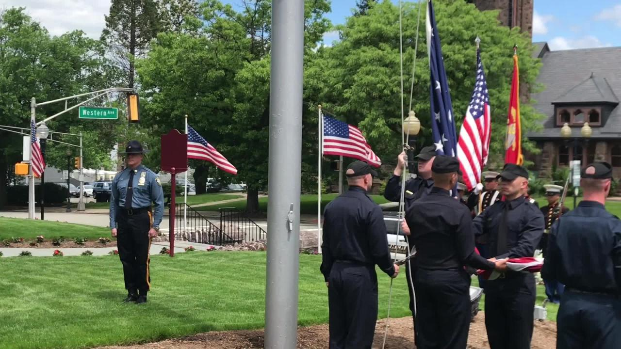 Morris veterans honored at courthouse