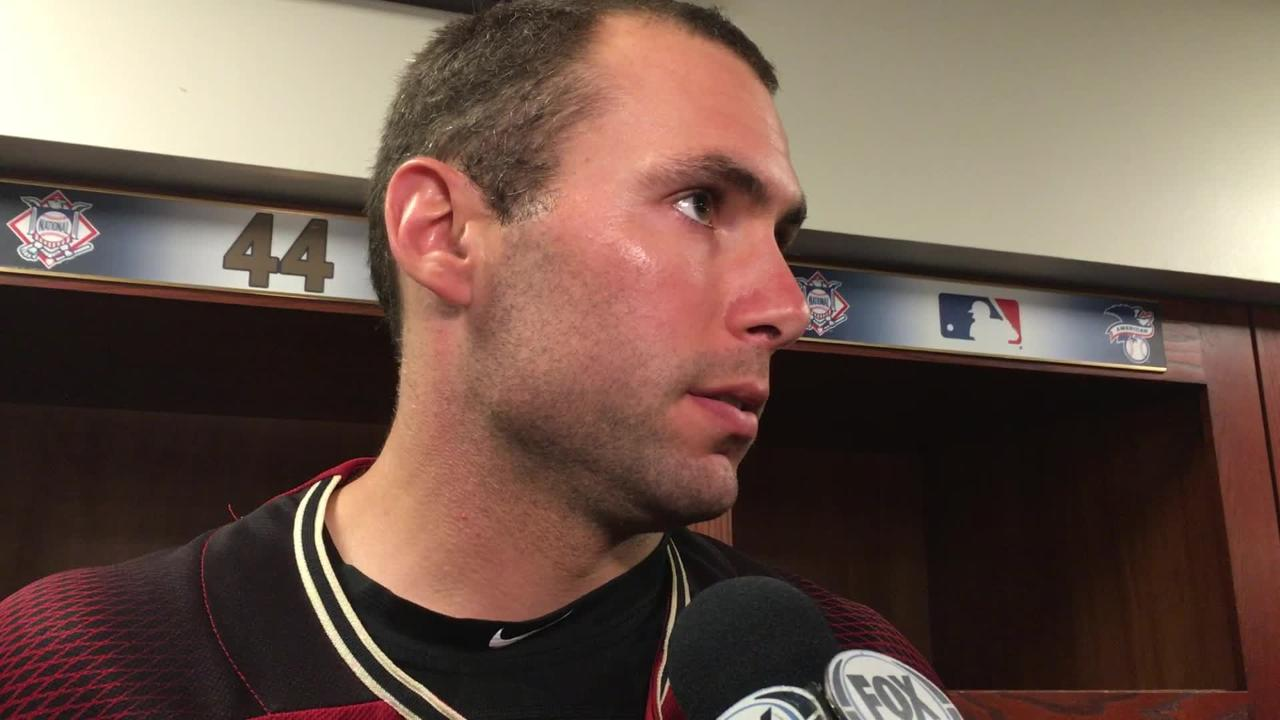 Paul Goldschmidt connected for a home run on Wednesday but the Diamondbacks were mostly quiet otherwise at the plate vs. the Brewers.