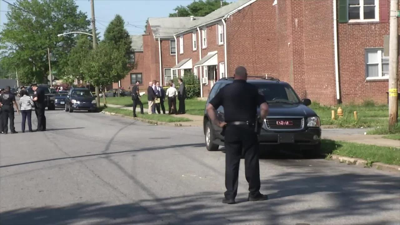 Raw Video: Wilmington Police on scene of shooting