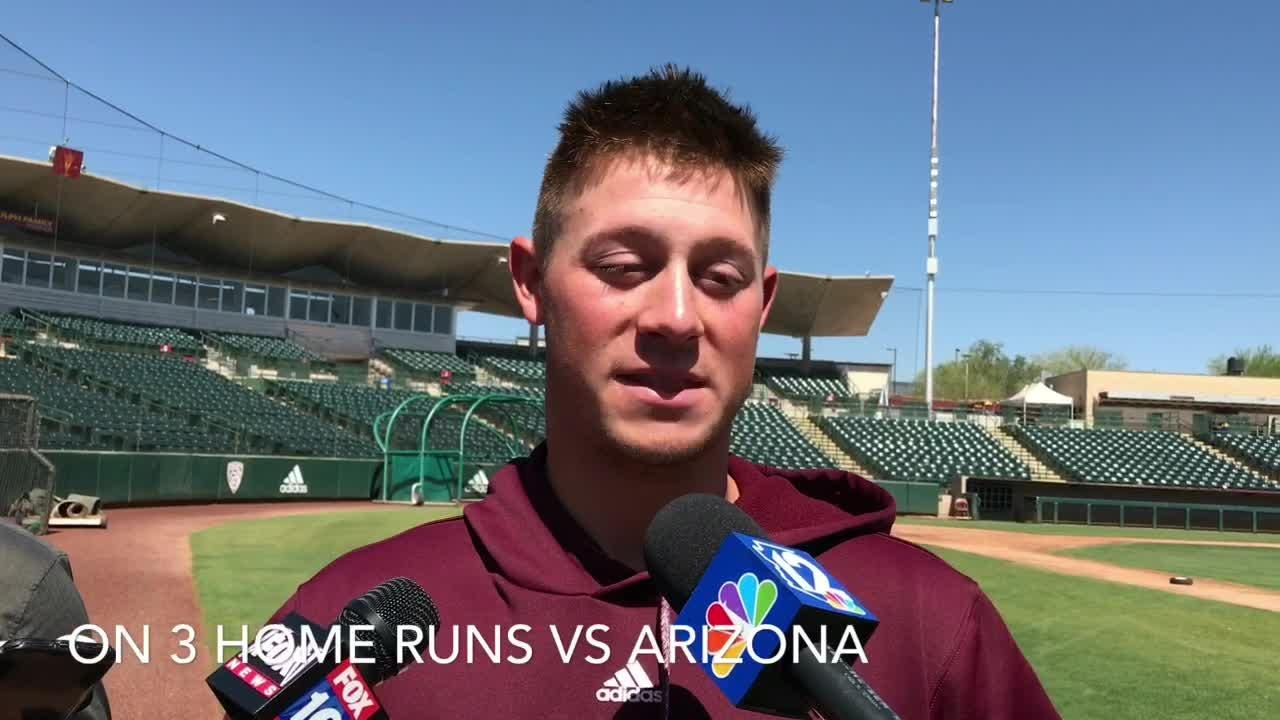 Spencer Torkelson goes into ASU baseball season-ending series needing 2 home runs to tie school record 27 set in 1990.