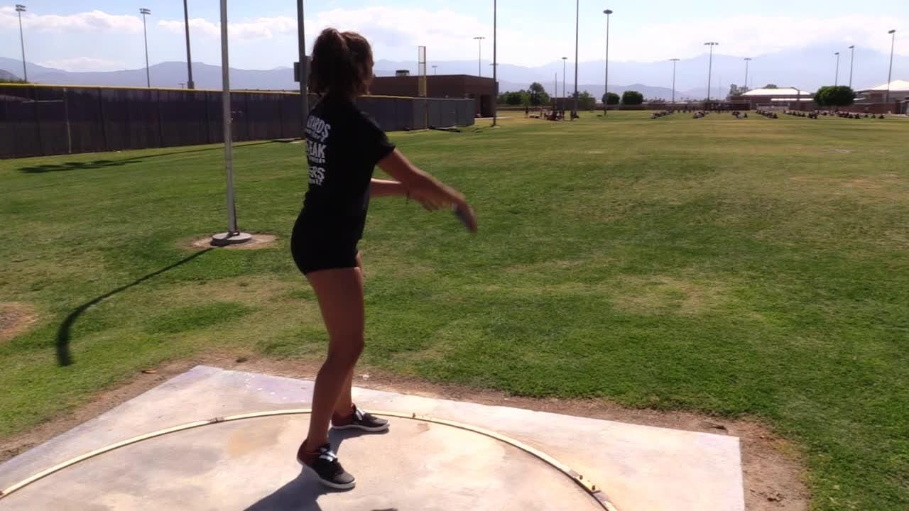 Shadow Hills thrower Victoria Soto tells us what it takes to throw discus.