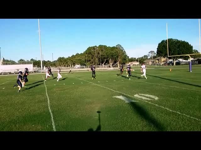 The Space Coast Vipers dropped Trinity Christian, 27-7, in the 2018 spring football game. Watch highlights from the match-up.