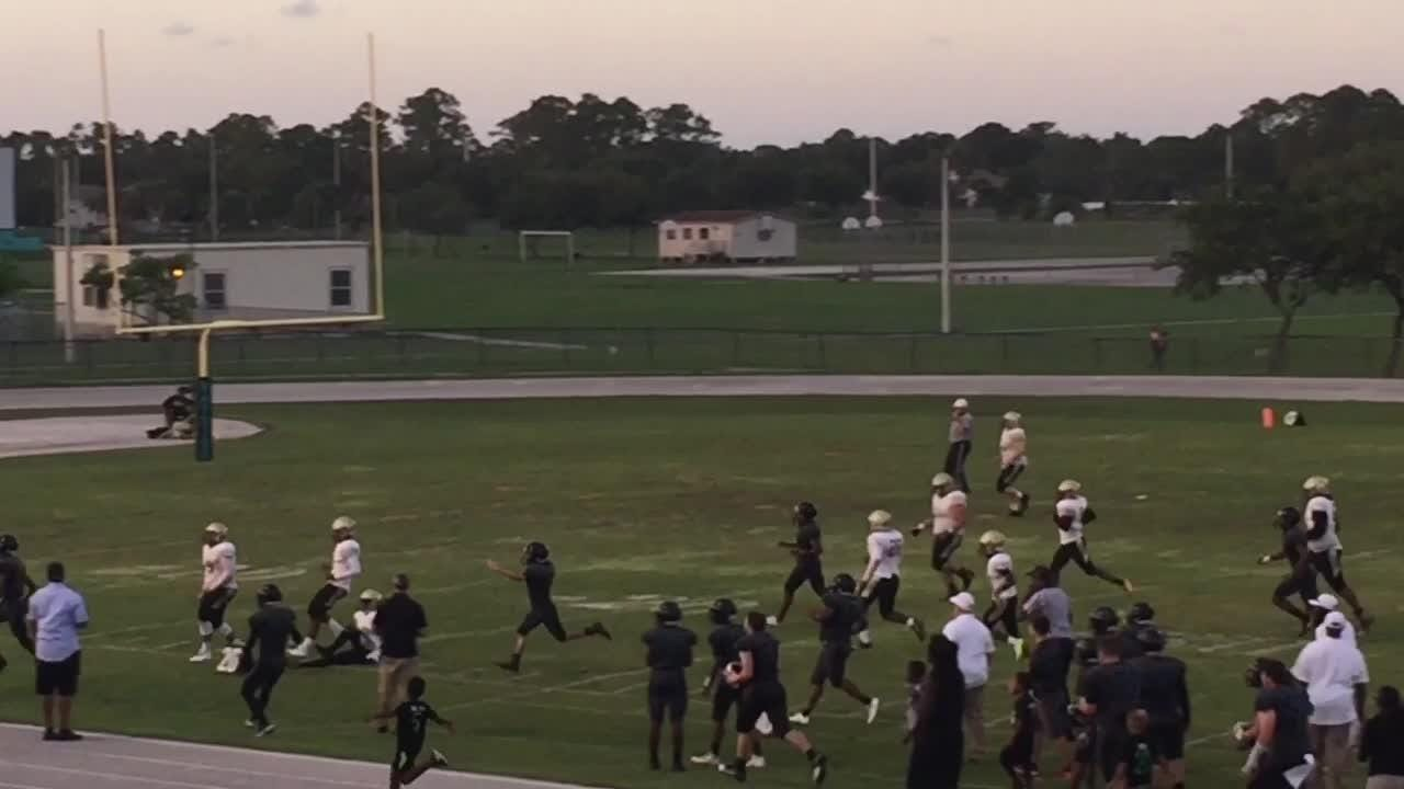The Bears fell to Moore Haven, 31-0, on Wednesday but showed potential. Posted May 24, 2018.