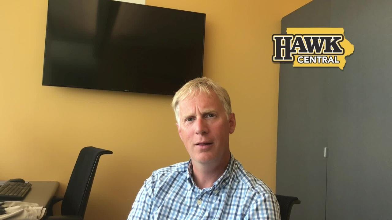 What did Iowa rowing coach Andrew Carter find out about his team at last year's NCAA championships?