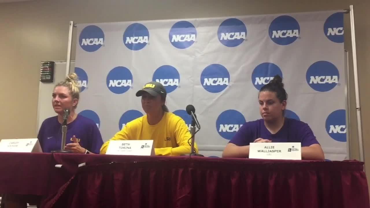 Watch it: Beth Torina, Carley Hoover, Allie Walljasper preview Tallahassee Super Regional