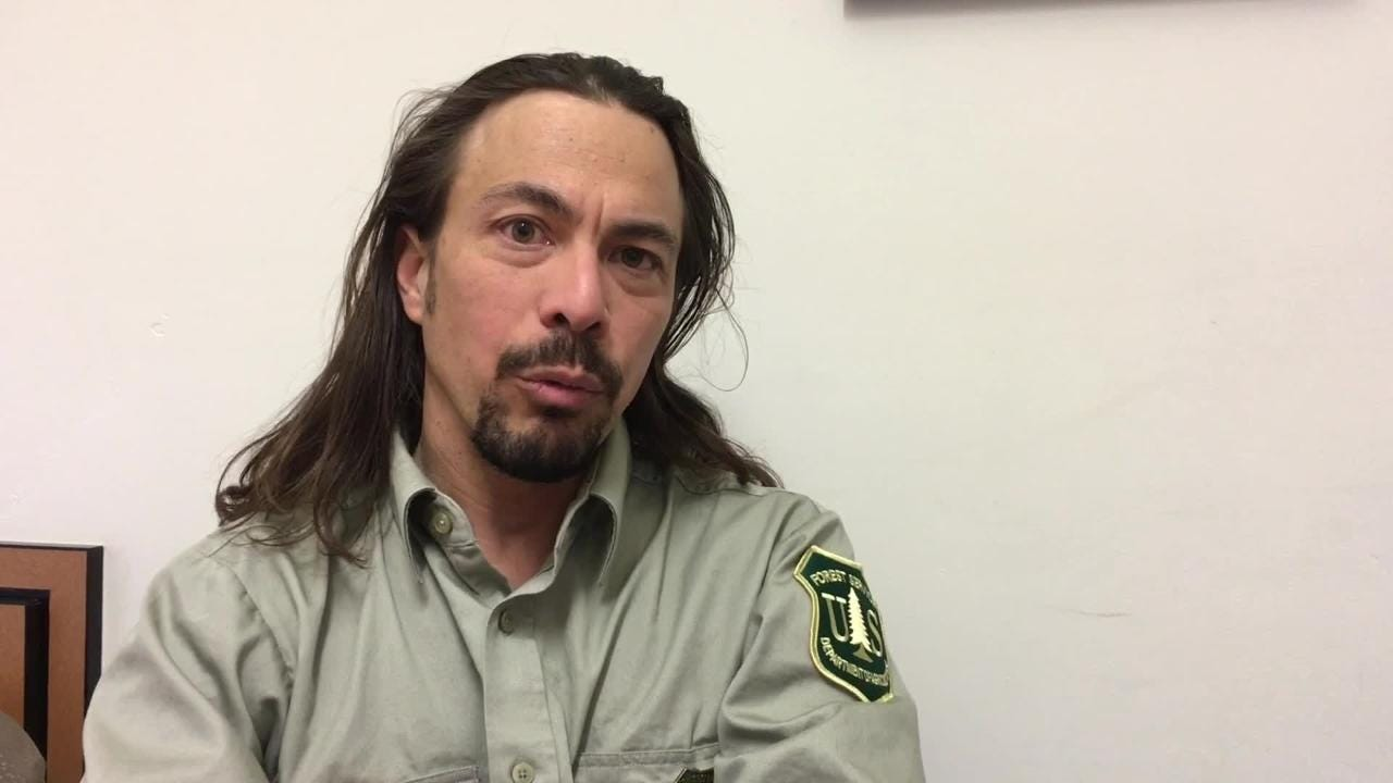 Tahoe NF Supervisor Eli Ilano talks about the proposed winter travel management plan for the forest.