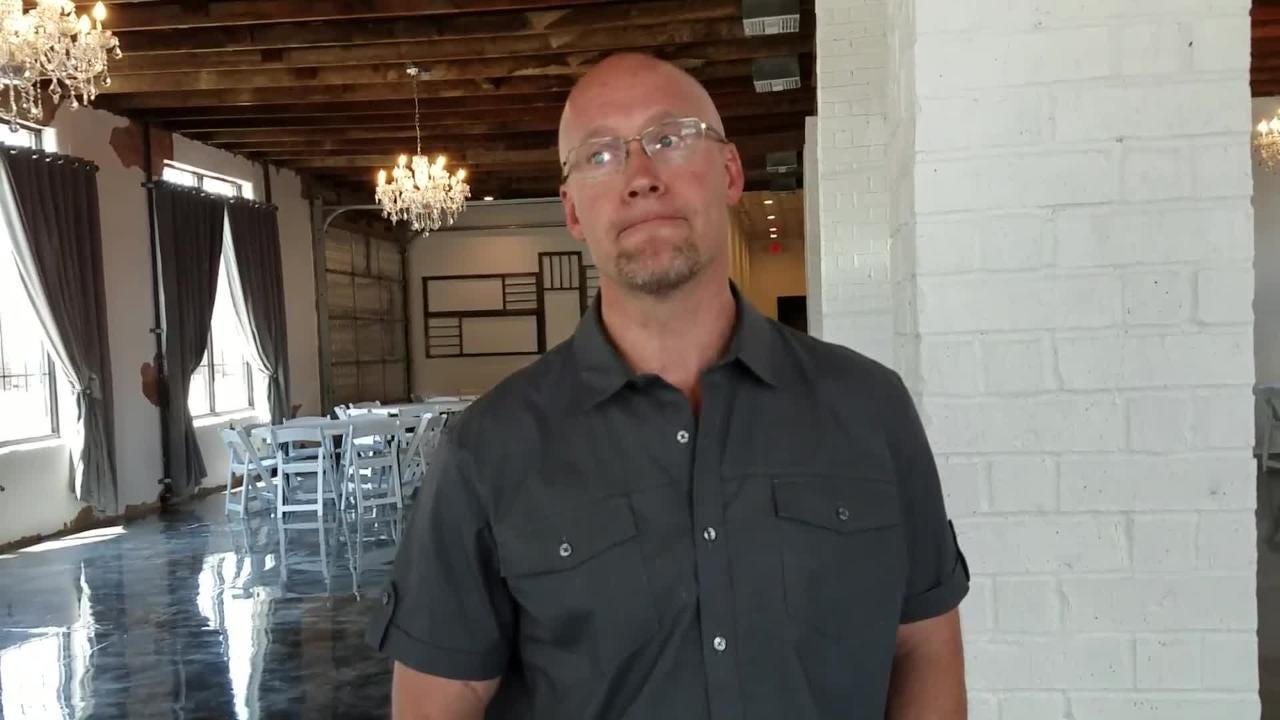 Tim Smith talks about his South of Downtown Area (SoDA) Courtyard and his passion for renovating older areas.