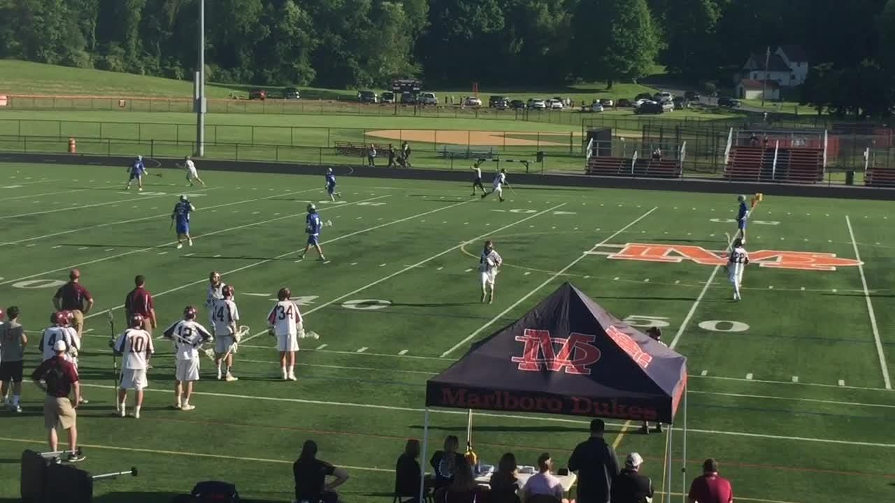 Highlights from Millbrook's 16-3 loss to James I. O'Neill in Thursday's Section 9 Class D boys lacrosse final.