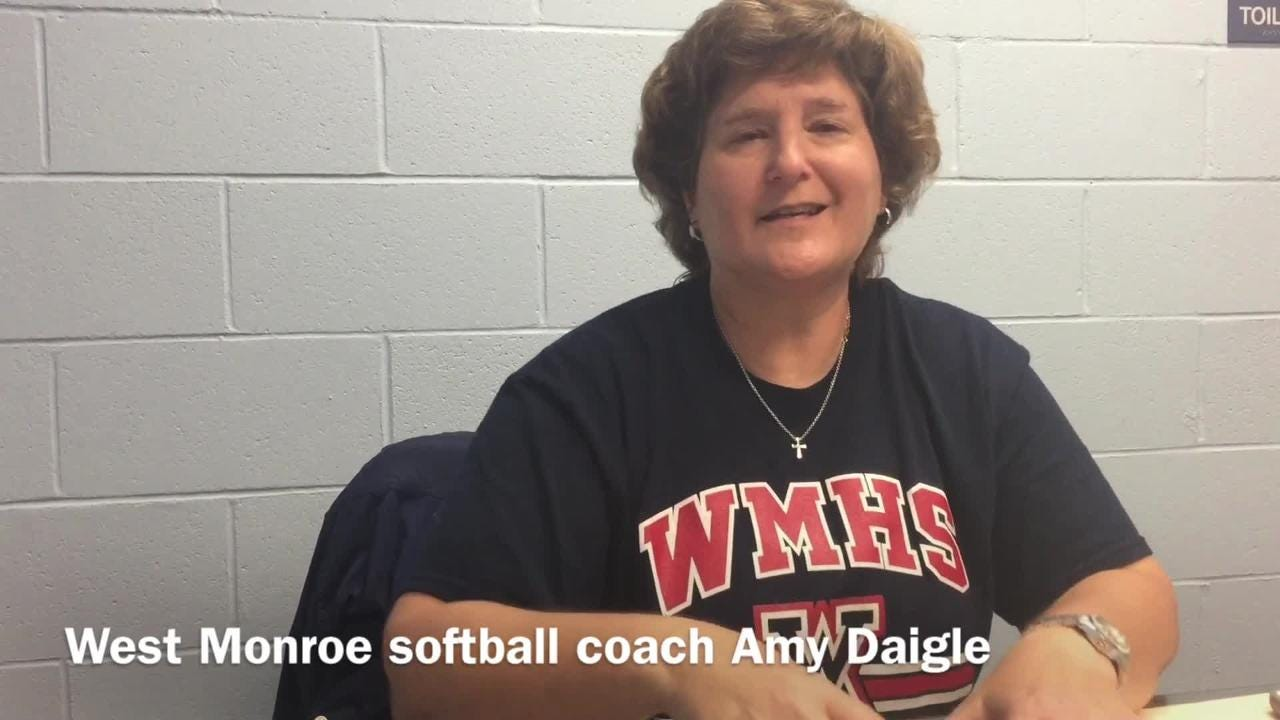 West Monroe softball coach Amy Daigle details how her team snapped its seven-year state tourney drought.