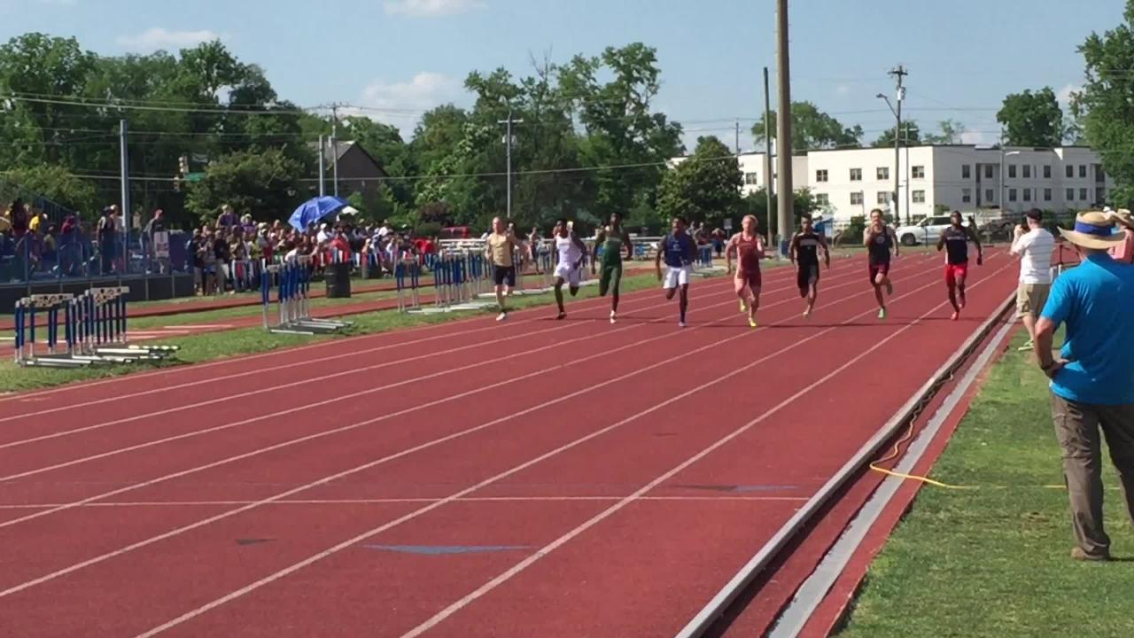 It was close, but West Creek's Markeece Shufford captured the state championship in the 100-meter dash.