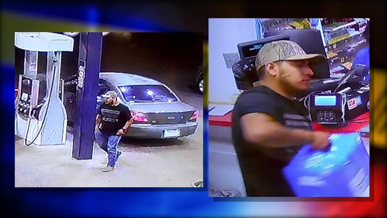 The El Paso Police Department and Crime Stoppers of El Paso are looking for a man who was caught on camera using a stolen credit card.