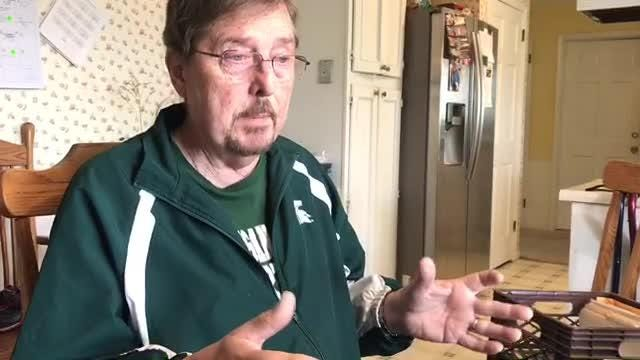 Dennis LIthander of Delta Twp. said his family for decades didn't talk about his uncle's death in WWII. He wanted to know more.