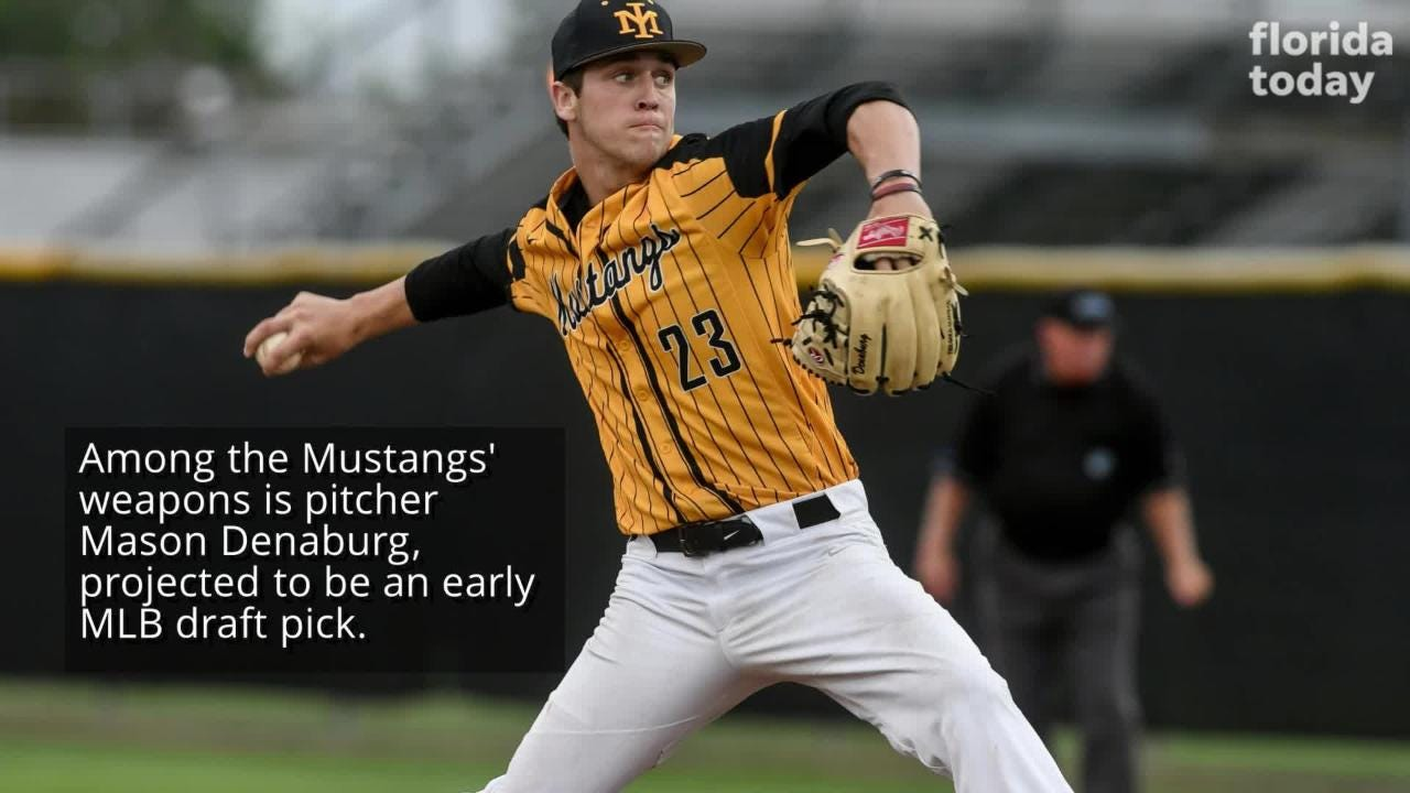 Mustangs play Barron Collier on Wednesday at 1 p.m. Posted May 25, 2018.